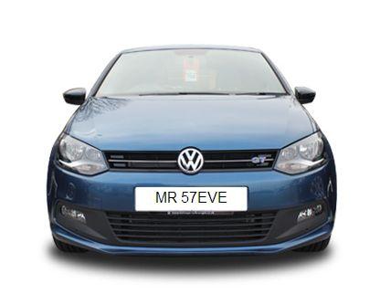 MR57 EVE Number Plate