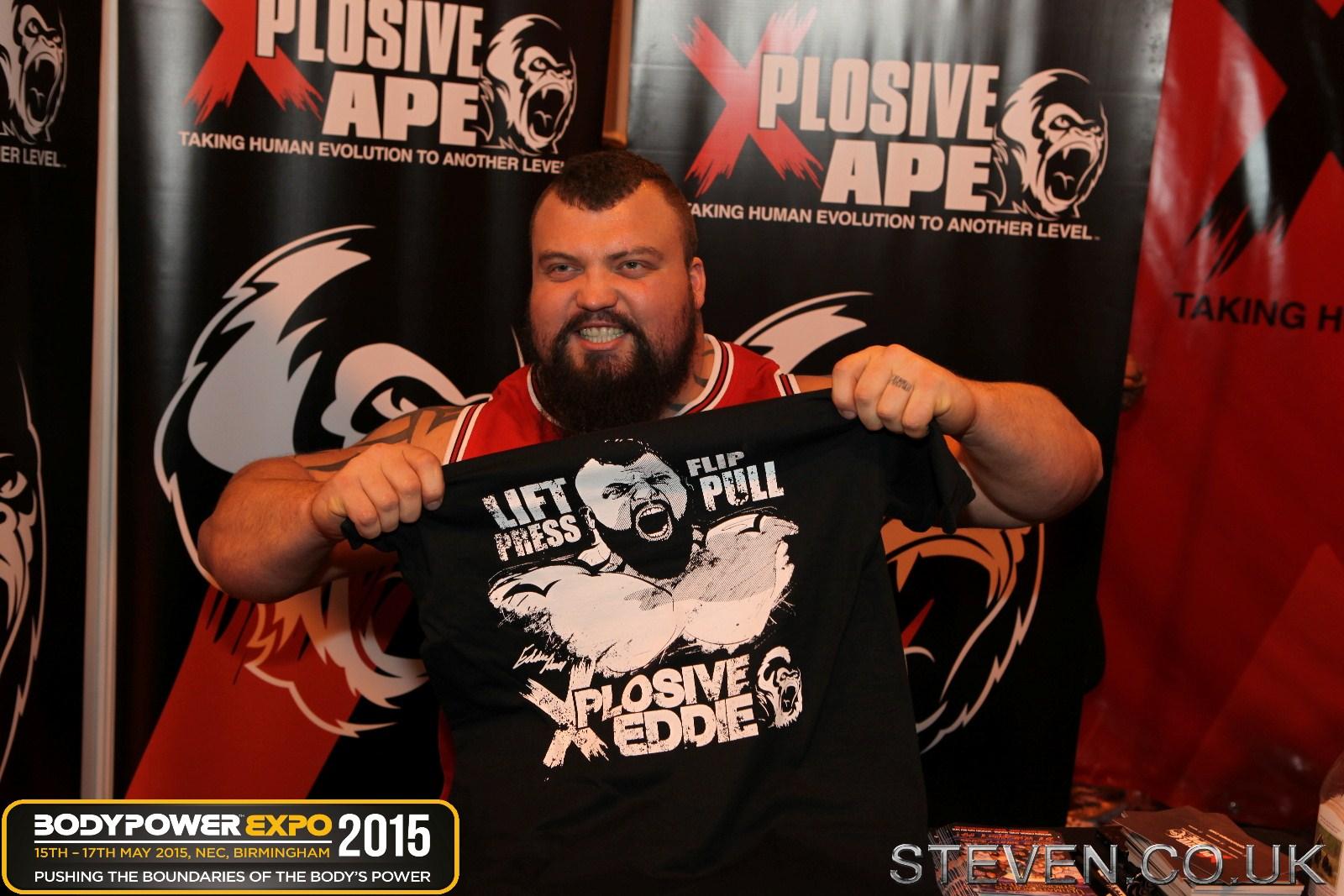 Eddie Hall at Body Power 2015