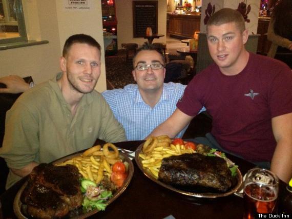150oz Steak at The Duck Inn