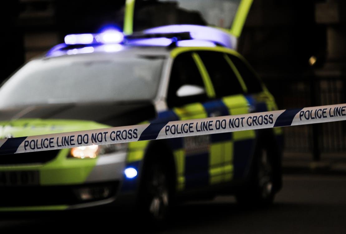 Police Crack Down Barrier