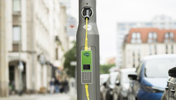 Ubitricity Lamp Post Charger image by Ubitricity