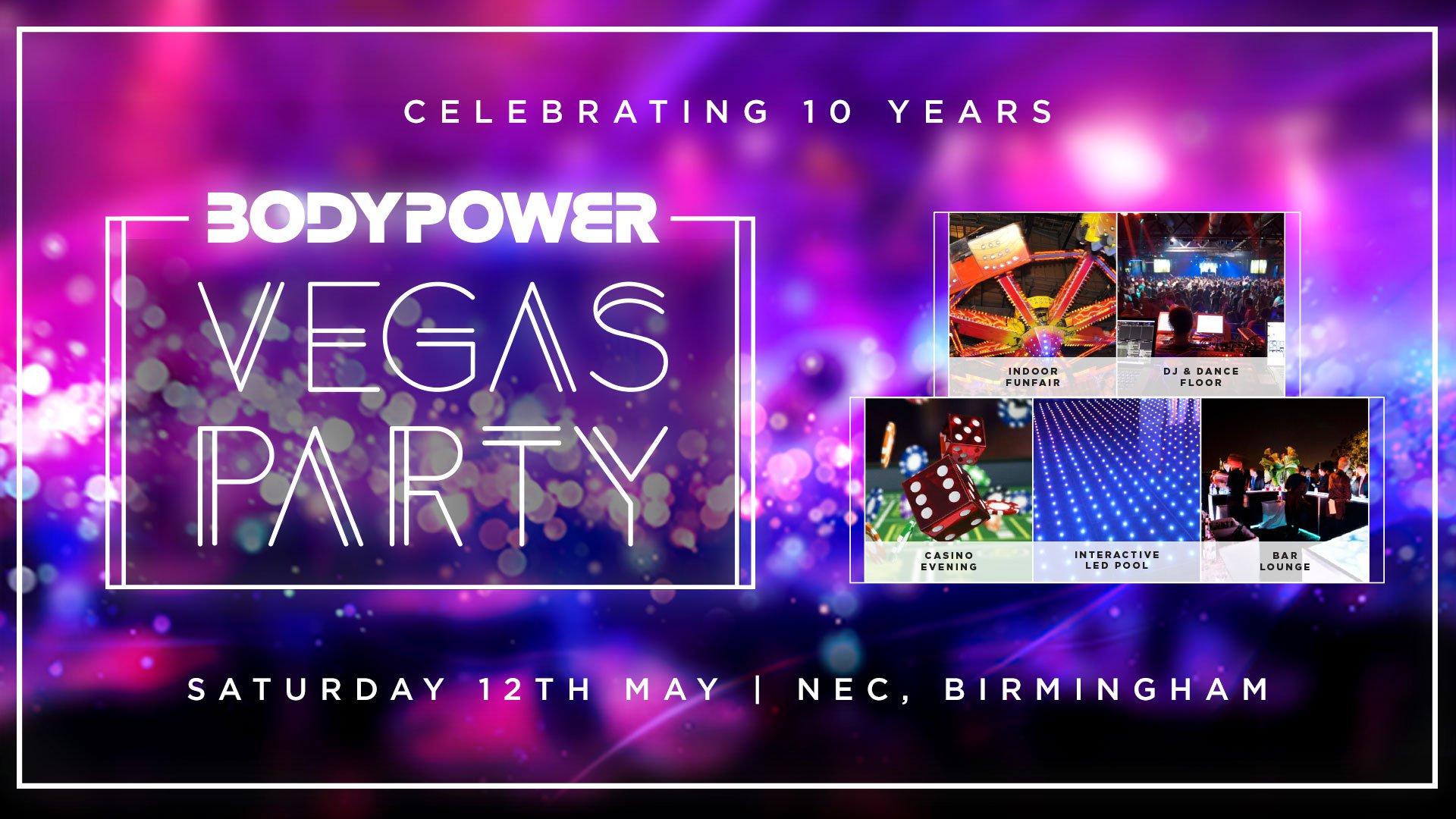 Body Power Las Vegas Party